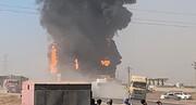 ویدئو | تصاویر جدید از آتش سوزی گمرک اسلام قلعه