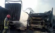 تصاویر | گمرک اسلام قلعه ۲۴ ساعت پس از انفجار