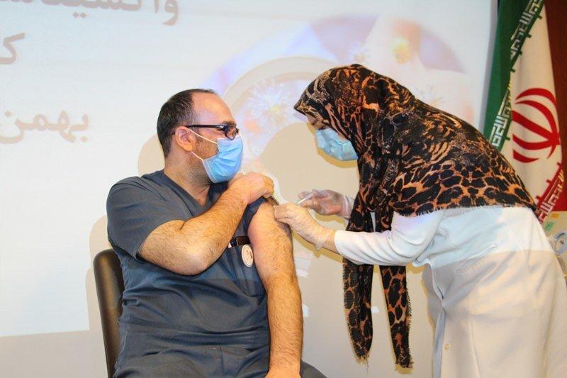 واکسن کرونا در بیمارستان مرکز طبی کودکان