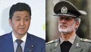 گفتوگوی وزیران دفاع ایران و ژاپن |  تاکید بر دولتی بودن ترور شهیدان سلیمانی و فخریزاده