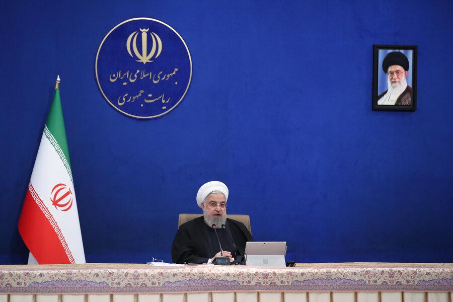 حسن روحانی   جلسه هیات دولت