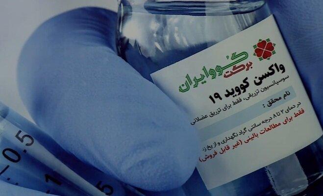 واکسن کرونا - کوو ایران برکت