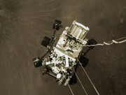 عکس روز| «استقامت» در حال فرود روی مریخ