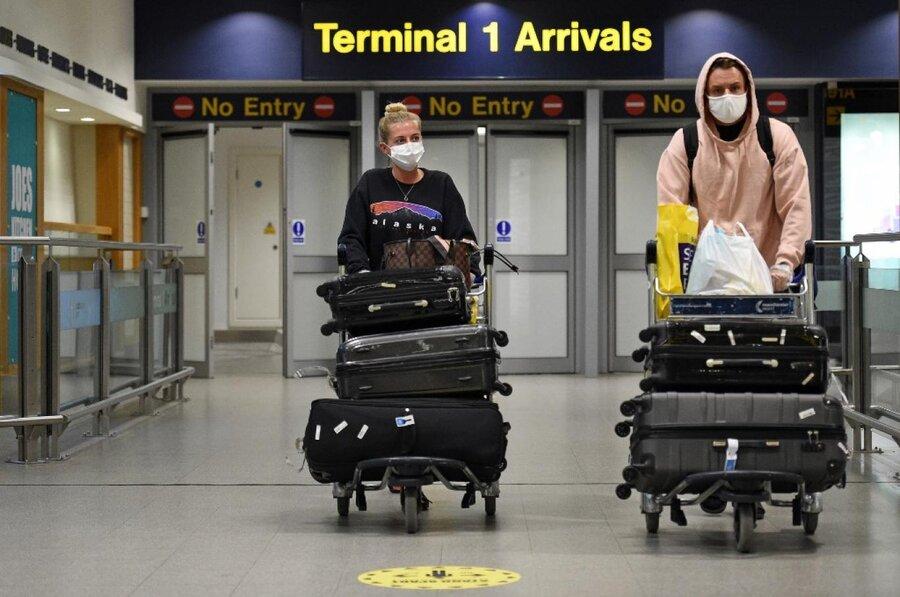 كرونا - فرودگاه