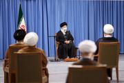 تصاویر دیدار اعضای مجلس خبرگان با رهبری