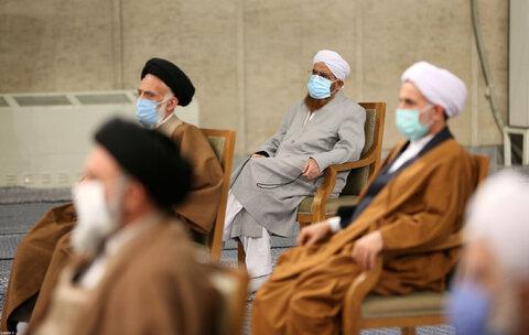 تصاویر دیدار رهبری با اعضای مجلس خبرگان