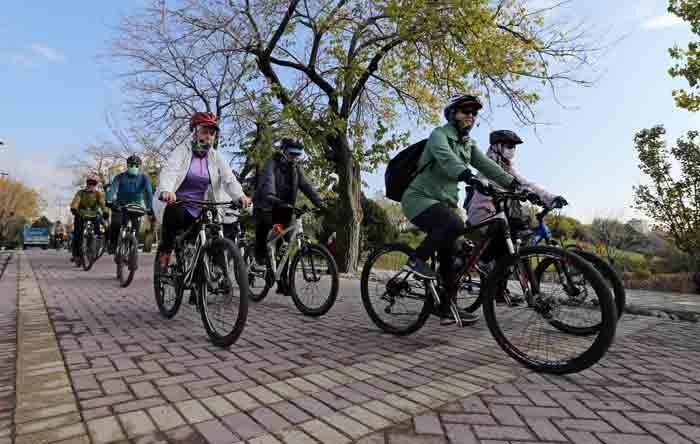 اجرای طرح «هر محله یک گروه دوچرخهسوار»