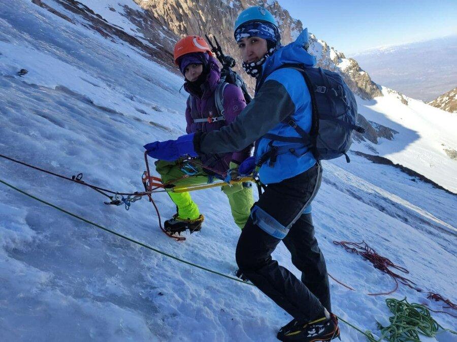 کوهنوردان زن
