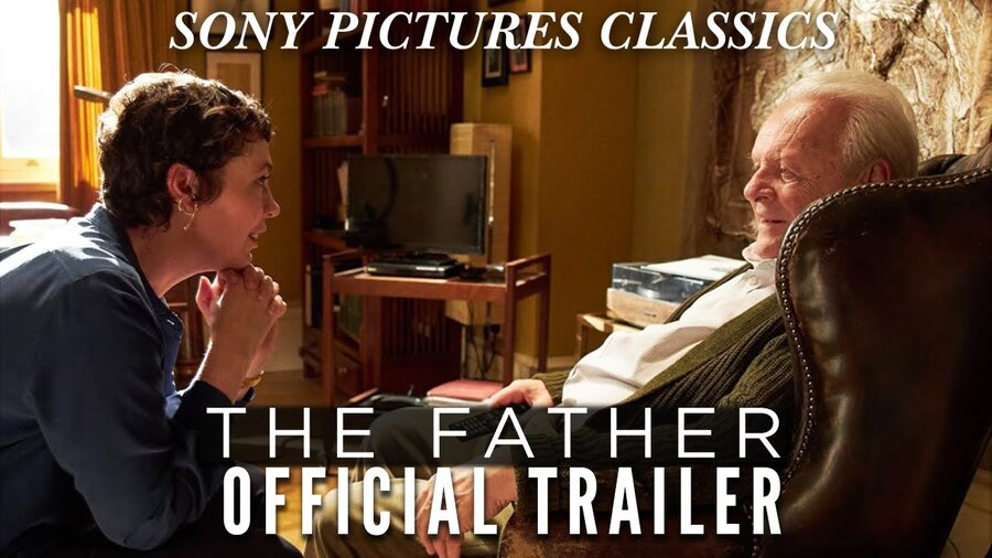 فیلم پدر آنتونی هاپکینز + اولیویا کلمن