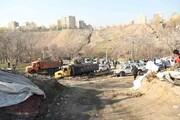 رفع خطر از گودهای ساختمانی در معابر شمال پایتخت