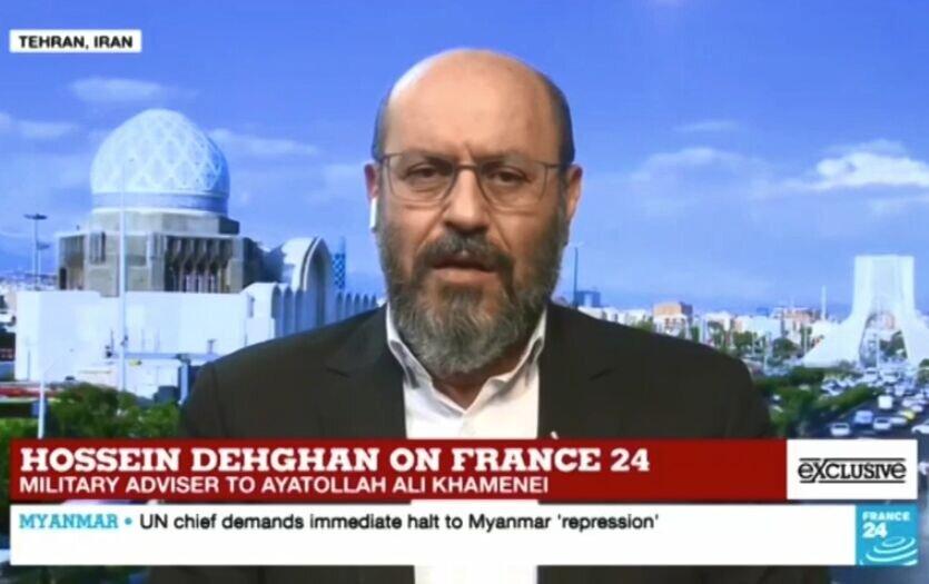 پاسخ مشاور نظامی رهبری به شبکه فرانسوی؛ توان دفاعی ایران هرگز وابسته به سلاح اتمی نیست