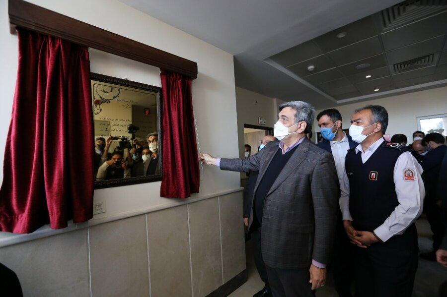 تصاویر | افتتاح ۳ ایستگاه آتشنشانی با حضور شهردار تهران