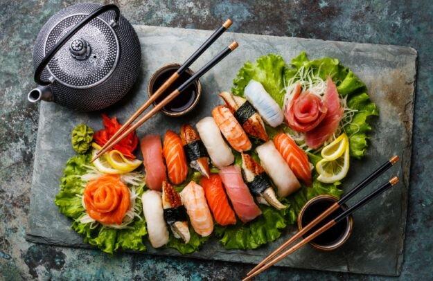 Japanese food - تغذیه - سوشی