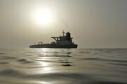 اَبَرنفتکش ایرانی در سکوت کامل راهی دریای سرخ شد