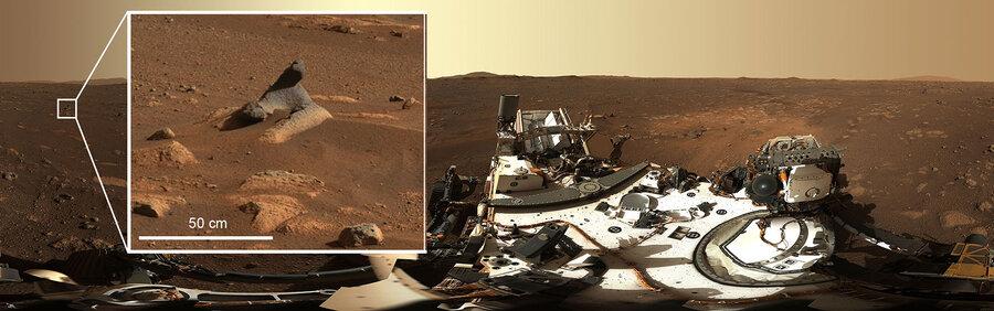 ویدئو | کاوشگر «استقامت» نخستین پانوراما را با وضوح بالا از سطح مریخ ارسال کرد