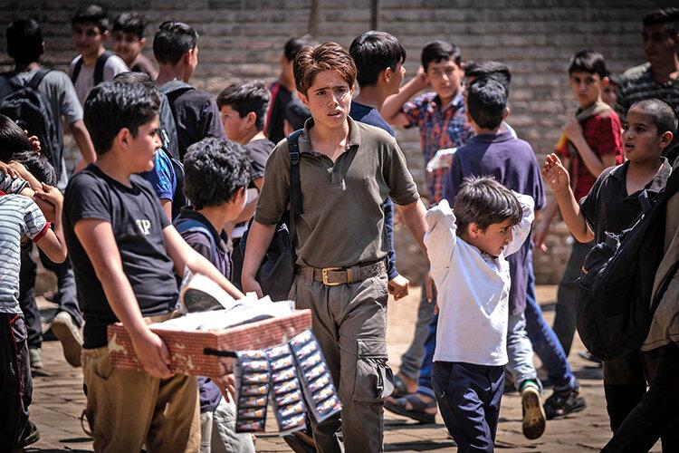 روحالله زماني بازيگر نوجوان