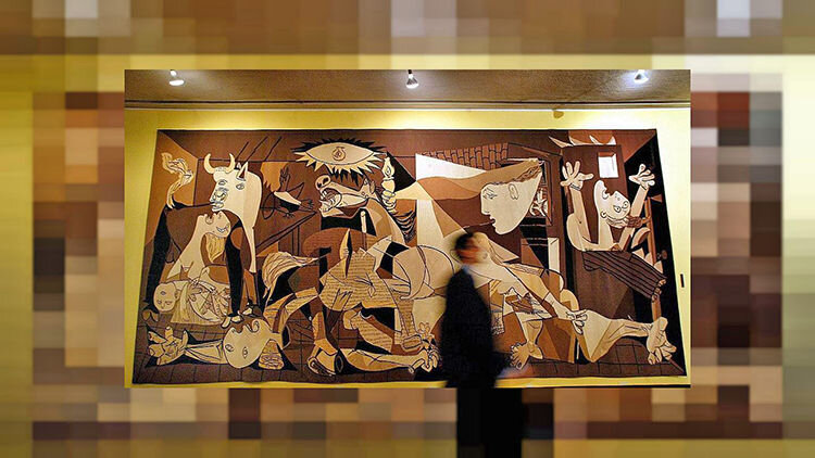 نقاشی ضد جنگ پابلو پیکاسو