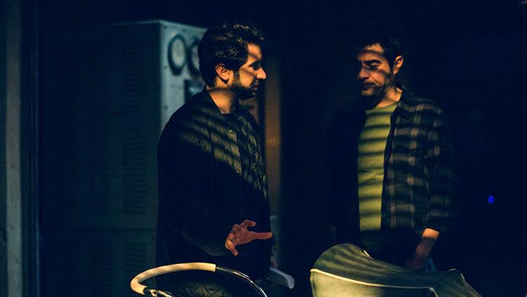 شهاب حسینی و کورش آهاری در فیلم شب