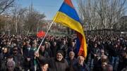 هجوم مخالفان نخستوزیر ارمنستان به ساختمانهای دولتی