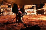 ۹ مصدوم در حادثه آتشسوزی یک واحد تولیدی در زنجان