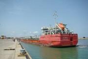 بندر فریدونکنار به شبکه حملونقل کانتینری دریای خزر پیوست