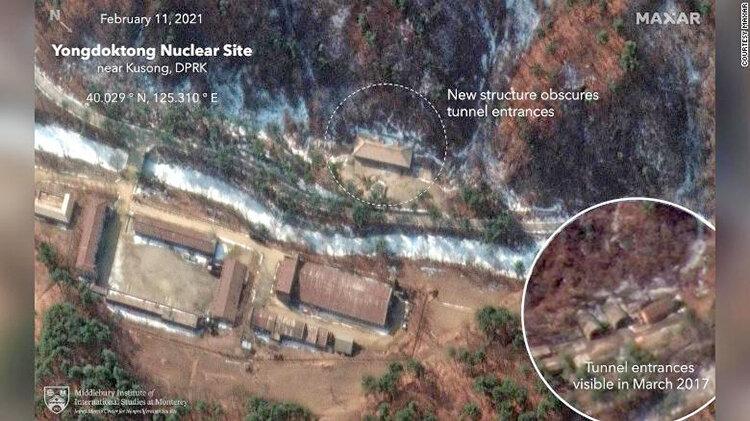 تصاوير ماهوارهاي از سايت برنامه هستهاي كره شمالي