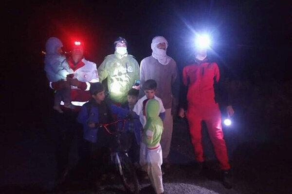 پنج کودک گمشده