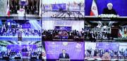 ۱۰۰۴ پروژه شهرداریهای سراسر ایران با فرمان رئیس جمهوری افتتاح شد