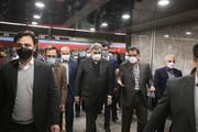 تصاویر | آیین افتتاح ایستگاههای مترو قیام و دولاب در تهران
