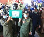 وداع با پیکر خلبان شهید بیگ محمدی