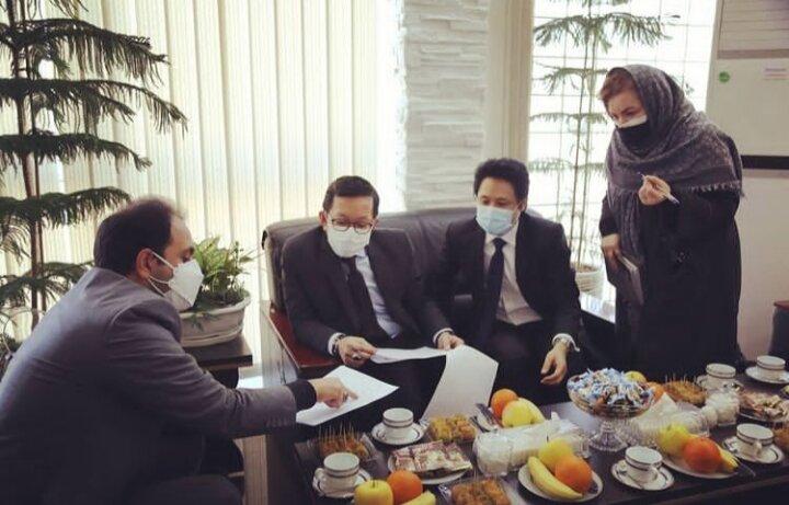 دیدار شهردار قلب تهران با سفیر تایلند
