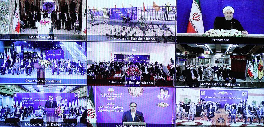 افتتاح ویدئوکنفرانسی پروژههای شهرداریها