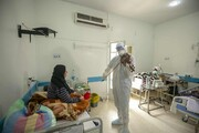 عکس روز| ویولن دکتر برای بیماران کرونا