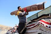 تصاویر | رونق قالیشویی در آستانه عید نوروز