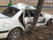 تصادف با درخت در گرگان سه کشته بر جای گذاشت