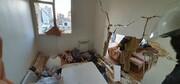 تصاویر | انفجار شدید در یک ساختمان اداری در خیابان سپهبد قرنی