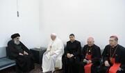 بیانیه واتیکان پس از دیدار پاپ با آیتالله سیستانی