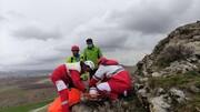 نجات نوجوان ۱۸ساله از یخ زدن درارتفاعات نقده