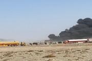 حریق در گمرک ابونصر فراهی افغانستان مهار شد