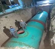 نصب مخزن آب شرب اضطراری در پارک دانشجو | آمادهسازی ۴۴ مکان اسکان اضطراری در مرکز پایتخت