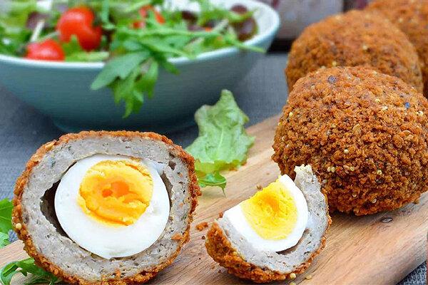 اسنک تخم مرغ - آشپزی - غذا - تغذیه