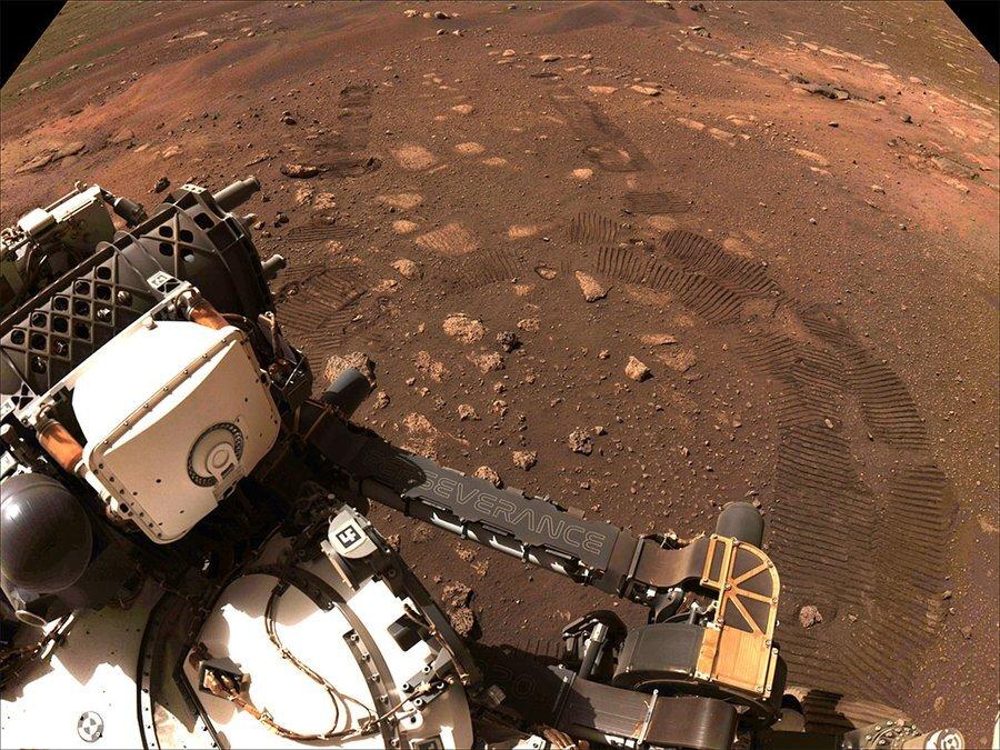«استقامت» نخستین راندن آزمایشیاش را روی سطح مریخ انجام میدهد