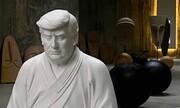 استقبال چینیها از تندیسهای ۱.۶ و ۴.۶ متری ترامپ بودا