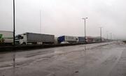 ویدئو   دلیل تشکیل صفهای کیلومتری کامیون در مرز بازرگان   اعتراض رانندگان