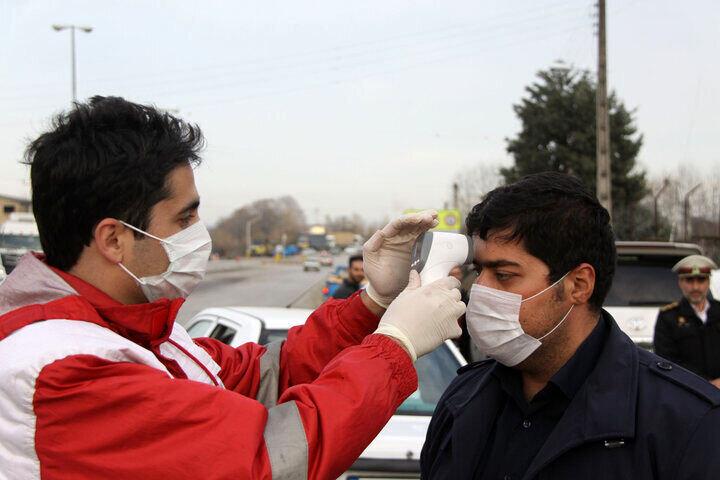 كرونا در ايران - هلال احمر