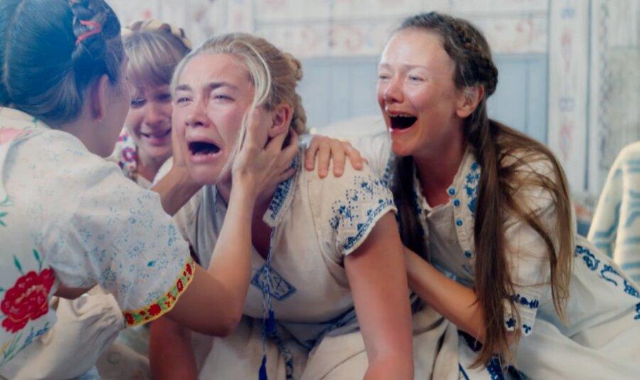 ببینید | تصویری که فلورنس پیو از ترسناکترین لحظه بازیگری اش منتشر کرد | روایتی از فیلم میدسومار، وحشت و حمایت خواهرانه