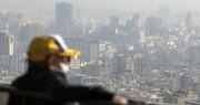 حال و هوای تهران بد شد | ناسالم برای گروههای حساس