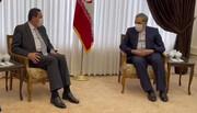 ویدئو | لحظه ابلاغ پیام احوالپرسی رهبر انقلاب از بشار اسد