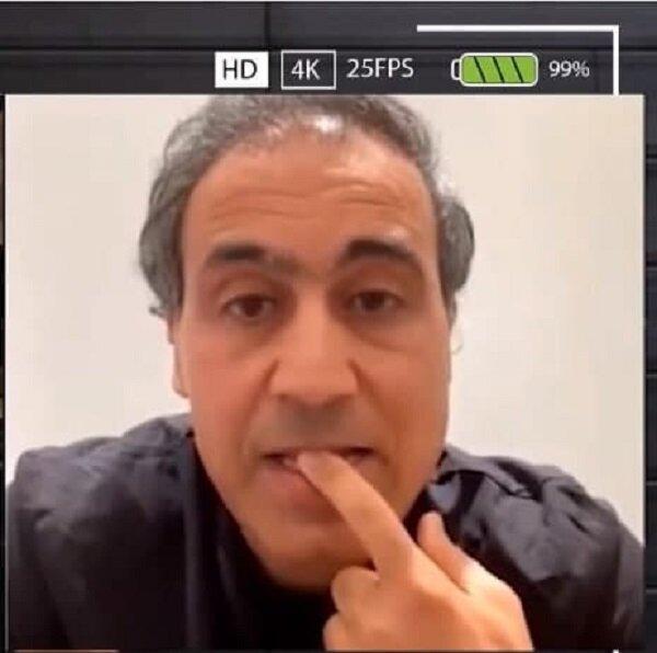 عکس | اشک های مهدوی کیا مقابل دوربین زنده | ماجرای اقدام یک ایرانی علیه آبروی کیا