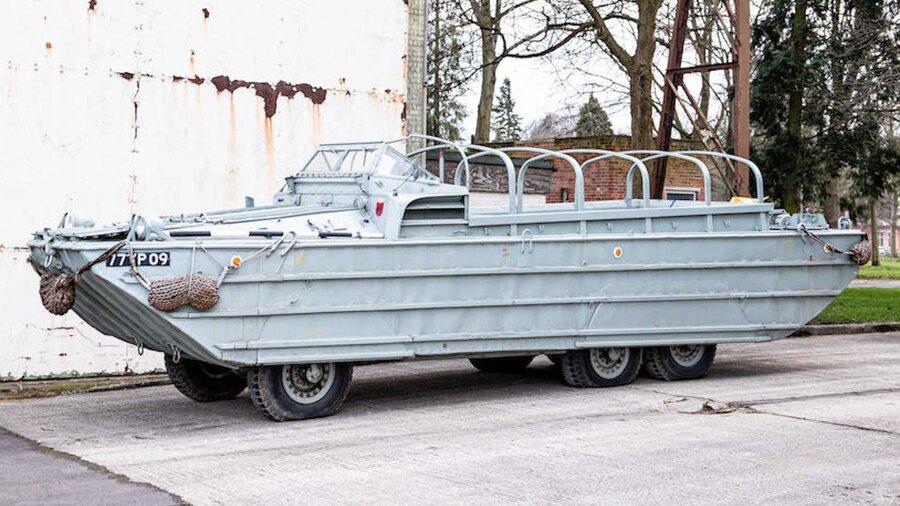 ویدئو   فروش خودروی دوزیست جنگ جهانی دوم